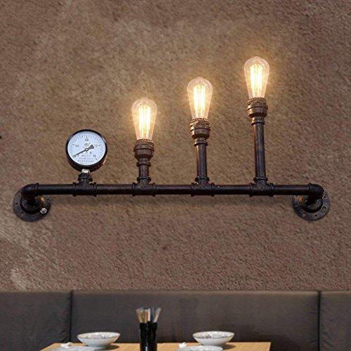 Retro-stil-barhocker (LQB Wandleuchte Retro Industrial Winds Kreative Kreative Eisen Wände Wand Lampen Barhocker Restaurant Loft Lichter)