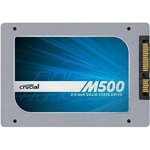 Crucial CT120M500SSD1 interne SSD (6,4 cm (2,5 Zoll), 256MB Cache, SATA III) schwarz