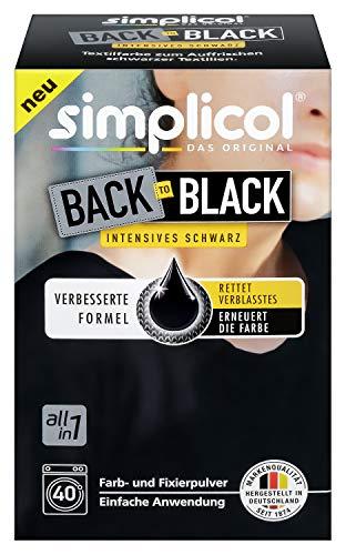 simplicol Farberneuerung, Schwarz