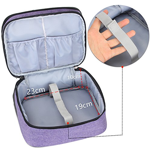 Luxja Beamertasche für QKK Mini Beamer, Tragbar Projektor Tasche für DR.Q Projektor - 5