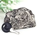 Wuiyepo exterior Spare Caja fuerte con llave escondida Seguridad Caso Roca