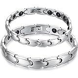 Starista Jewelry Titanium Magnetic Therapy Link Bracelet Germanium Power Health Wristband