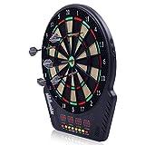 COSTWAY Elektronische Dartscheibe Dartboard Dartautomat LED Dartspiel Dartpfeil