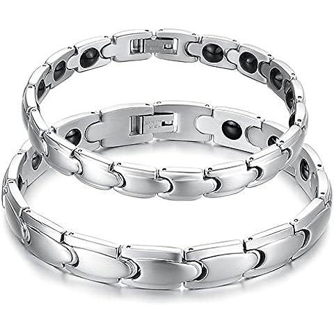 Starista monili di titanio terapia magnetica Bracciale Germanio Potenza Salute Wristband
