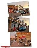 Erie Street - Das Historische Lowell - Poster-Set I mit 3