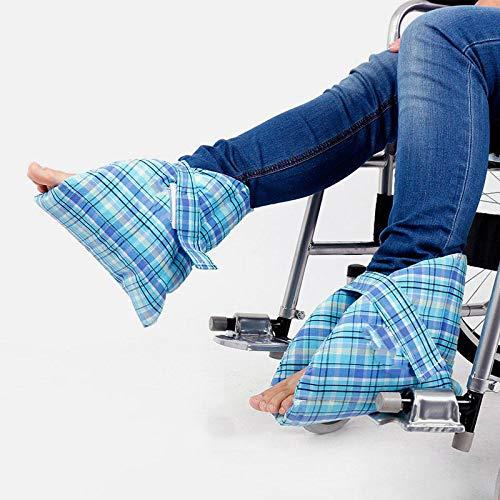QINAIDI Fersenschutz, Knöchelbandage und Verstauchungsschutz, Feste Überschuhe für Achillessehnenfrakturen -