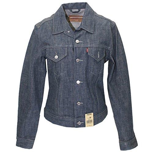 Levis, Trucker Slim Fit, Damen Jeansjacke, Denim, stay blue, M [17582] Levi ' Blaue Jeans-jacke Für Frauen