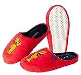 Pantoffeln Hausschuhe HARIBO rot Damen Mädchen Größe: 36 - 41, Pantofole donna Rosso rosso, Rosso (rosso), 41