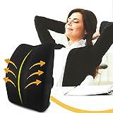 MEMORY FOAM Lordosenstütze Orthopädische Rückenkissen Kissen für unteren Rücken Schmerzlinderung