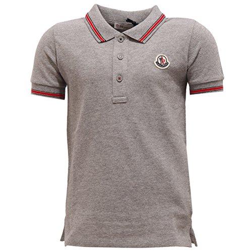 Usato, 3493U polo bimbo MONCLER maglia grigio grey polo t-shirt usato  Spedito ovunque in Italia