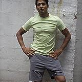 'prancing Leopard unisexe Yoga Surfer Short 'MENTAWAI coton bio pour homme et femme Fitness XL cloud grey