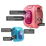 KOBWA Smart Watch für Kinder, 0,96 Zoll GPS Tracker(Wecker Stellen, Telefonieren, GPS Orten, Fern Reden, Schritte Zählen Usw.) für IPhone, Samsung - 3