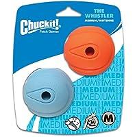 12531 Chuckit THE WHISTLER 2-PK Größe M, Tiere & Tierbedarf / Haustierbedarf / Hundebedarf / Hundespielzeug