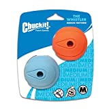 Canine Hardware Chuckit Whistler Balls Pack of 2 Fits Ball