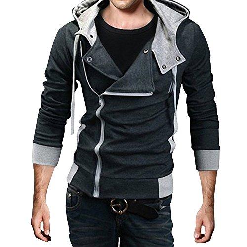 Desmond Miles Kostum New Hoodie Jacke Cosplay Costume (EU M(Tag XL), (Assassin Cosplay Kostüme Creed)