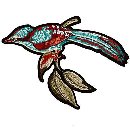 Cop Kostüm Heiße - Obctk Freies Verschiffen 5-teiliges gesetztes Vogel-heißes Aufkleber-nähendes Stickerei-Applikationsflecken, DIY Geschenk-Tuch-Abzeichen-Applikations-Kostüm-Rucksack-Hut-Jeansflecken