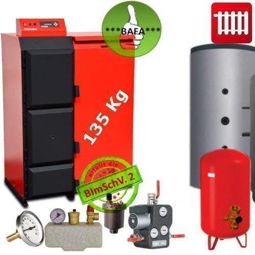 Caldaia Pellet Pelling 25 Eco 135 kg + Pellet + Bafa Ammissibile Set Completo 2