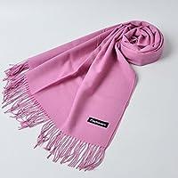 XBR _ foulard rouge châle nouveau pur cachemire don chaud épais foulard