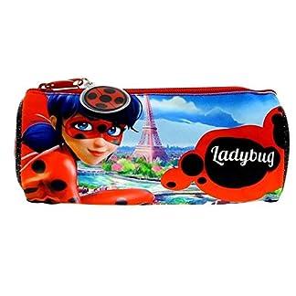 Estuche portatodo redondo de Lady Bug