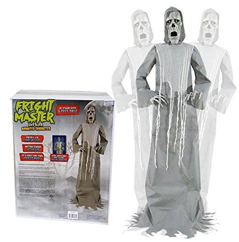 SV Halloween Animatronic Gespenst Fright Master lebensgroß mit Licht Sound und Bewegung