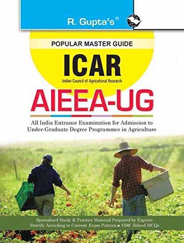icar aieea ug b sc agriculture entrance exam guide ebook rph