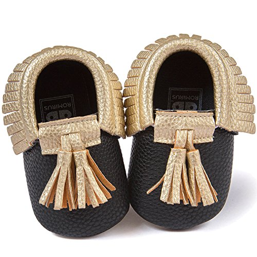 Kleinkind Schuhe Für Weiche Kleinkinder Baby 13 Unisex Schwarz Stil Jungen Gosear Schuh Größe Kinder Mädchen Mit Sohle Pu Niedlich Quaste qnS0zFt