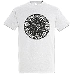 Urban Backwoods Viking Shield I T-Shirt Tamaños S – 5XL