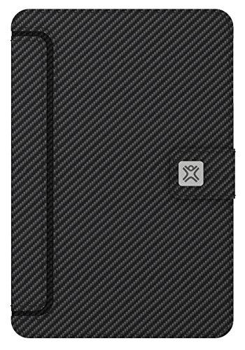 XtremeMac Thin Folio Carbon Fiber Schutzhülle für Apple iPad Mini (Komplettschutz) im Carbon-Design schwarz Xtrememac Thin Folio