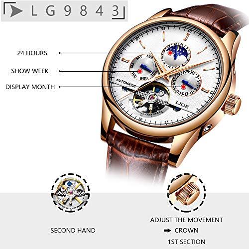 funcionamiento de un reloj lige automático