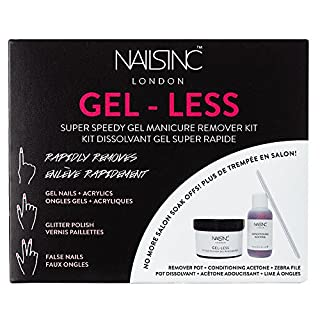 Nails Inc Gel-less Super Speedy Gel Manicure Remover Kit