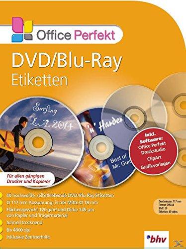Office Perfect - DVD / Blu-ray Etiketten