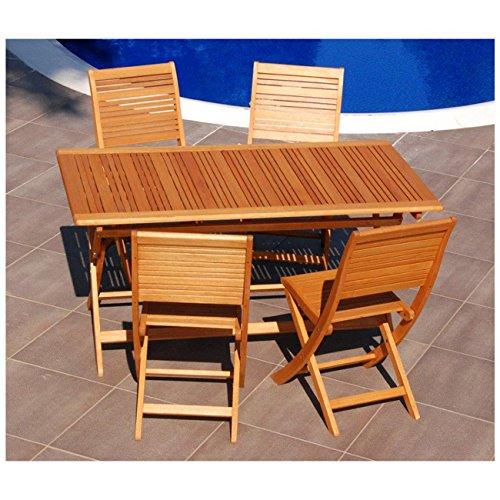 Acquisto Tavoli Da Giardino.Tavolo Da Giardino In Legno Pieghevole 80x150 Cm Acquisti Online