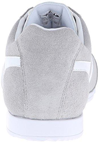Gola Harrier Suede, Baskets Basses Homme Gris - Gris/blanc