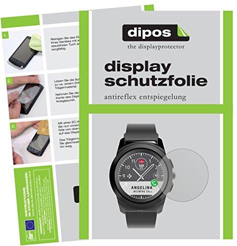 dipos I 6X Schutzfolie matt passend für MyKronoz ZeTime Folie Bildschirmschutzfolie
