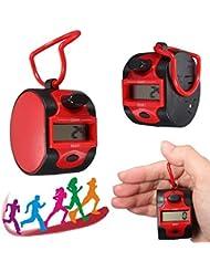 Elektronische 5 Digits Golf Jogging Hand Tally Z_hler Recorder