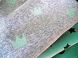 Lottashaus 3x Fleece Alpenfleece Sweat no5 Stoffpaket 1,5