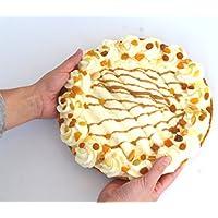 Madera de nogal rosinen de nata para tartas falsa–Pastelería, imitación Fake Food