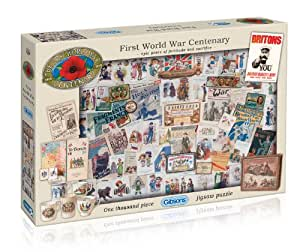 Gibsons the First World War Centenary Jigsaw Puzzle 1000 Pieces