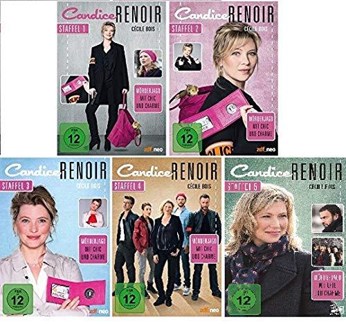 Candice Renoir - Staffel 1+2+3+4+5 im Set - Deutsche Originalware [16 DVDs]