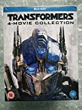 Transformers # 1-4 Bluray Collection Steelbook UK Exclusive Slipcased Limited Edition Blu-ray Boxset Only 500 Made Region Free.