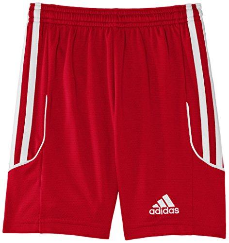 adidas Kinder Shorts Squadra 13, University Red/White, 128, Z21575