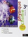 Physique Chimie 3e : Mon cahiers d'activités
