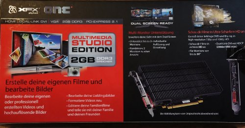 XFX HD 6570 R-Series ONE Multimedia Studio Edition Grafikkarte