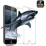 [2 Stück] Panzerglas Schutzfolie für iPhone 8/iPhone 7, Vkaiy Displayschutzfolie Panzerglasfolie Ultra dünne für iPhone 6/7/8 - 9H Härte, Anti-Kratzen, Anti-Öl, Anti-Bläschen, Anti-Fingerabdruck
