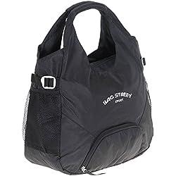 BST Bag Street Sport - Bolsa de deporte con asa (17 L), color negro