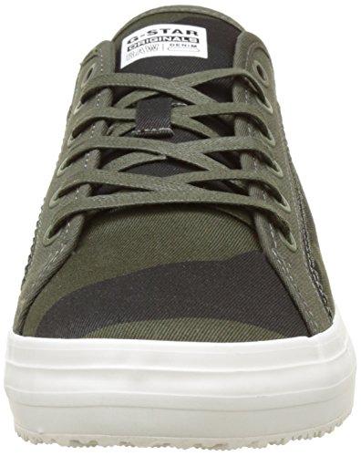 G-STAR RAW Kendo Camo, Sneakers Basses Homme Multicolore (Asfalt/Carbon Ao 7063)