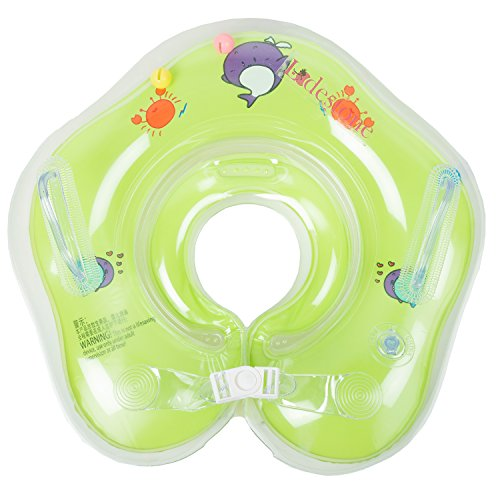 Lodestone's Swimming Neck Float Ring for Baby/Infants (Green)