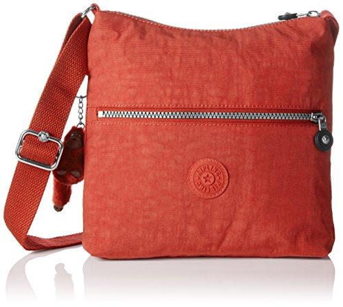 Kipling Zamor, Bolso Bandolera para Mujer, Rojo (78G Red Rust), 25.5x24.5x4 cm (B x H x T)
