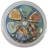 Vincent Van Gogh Mandorlo in Fiore Guitar Picks - 12 pc Media celluloide - regalo di musica unico freddo
