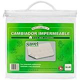 Savel, Cambiador para cuna, Rizo 100% algodón, Impermeable, 50x80cm
